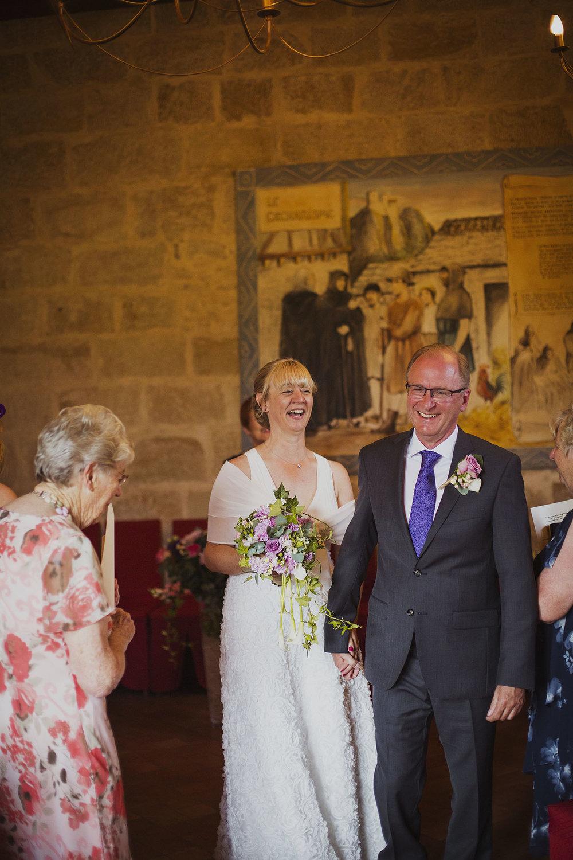 wedding ceremony at chateaux des ducs de joyeuses france destination wedding photography