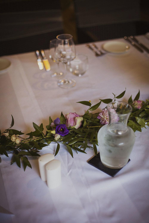 wedding breakfast at chateaux des ducs de joyeuses france destination wedding photography