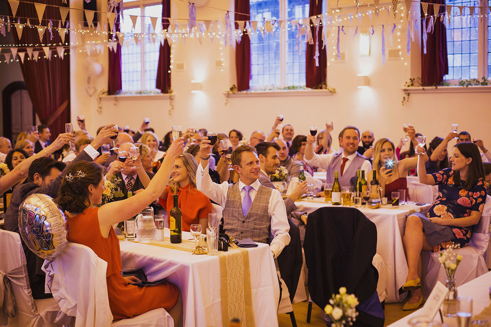 speeches at fentham hall diy wedding