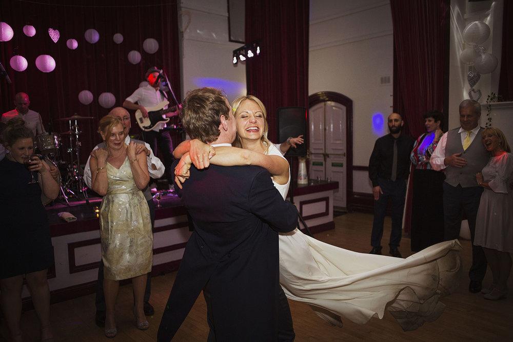first dance at fentham hall diy wedding