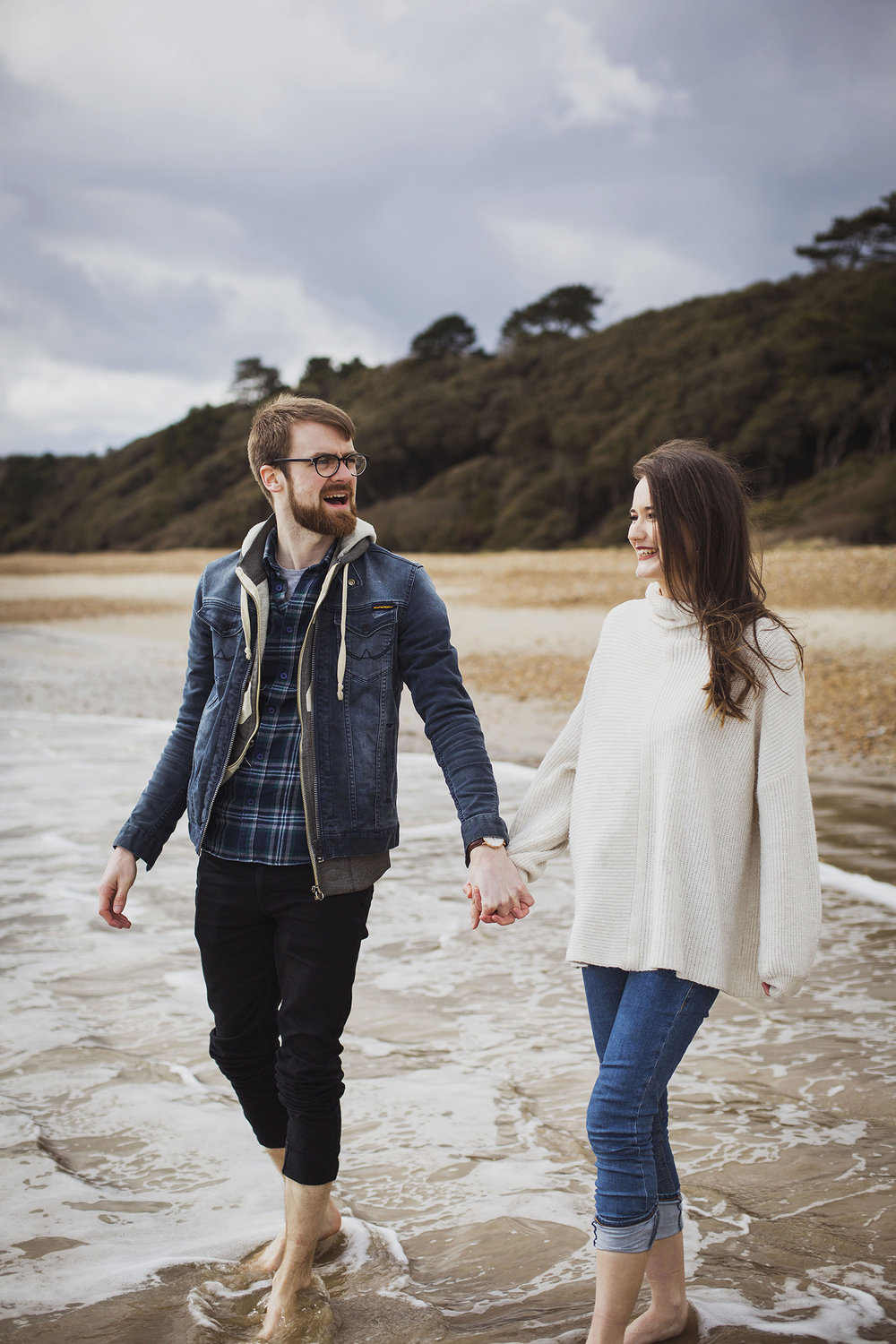 south west engagement photography