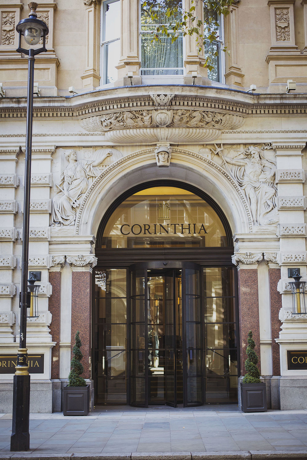 Corinthia hotel entrance Corinthia hotel wedding photographer