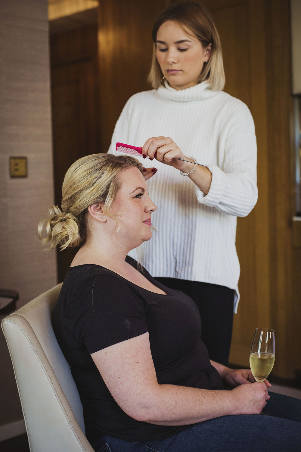 bridal prep corinthia hotel london wedding photographer