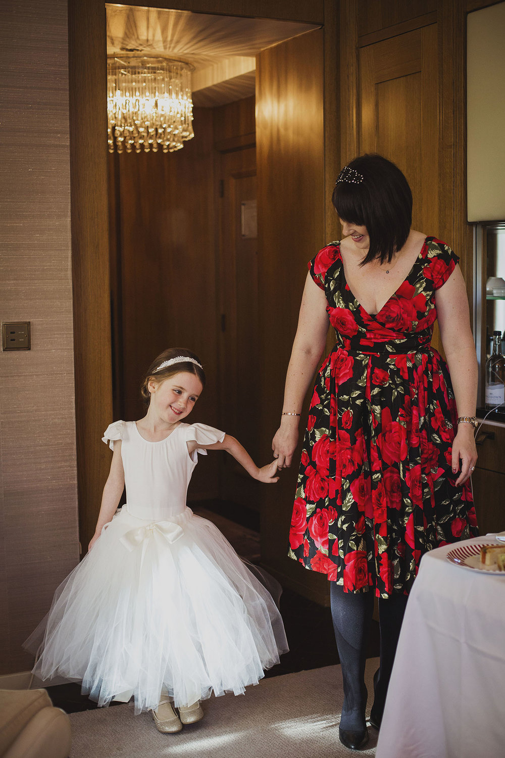flower girl corinthia hotel london wedding photographer