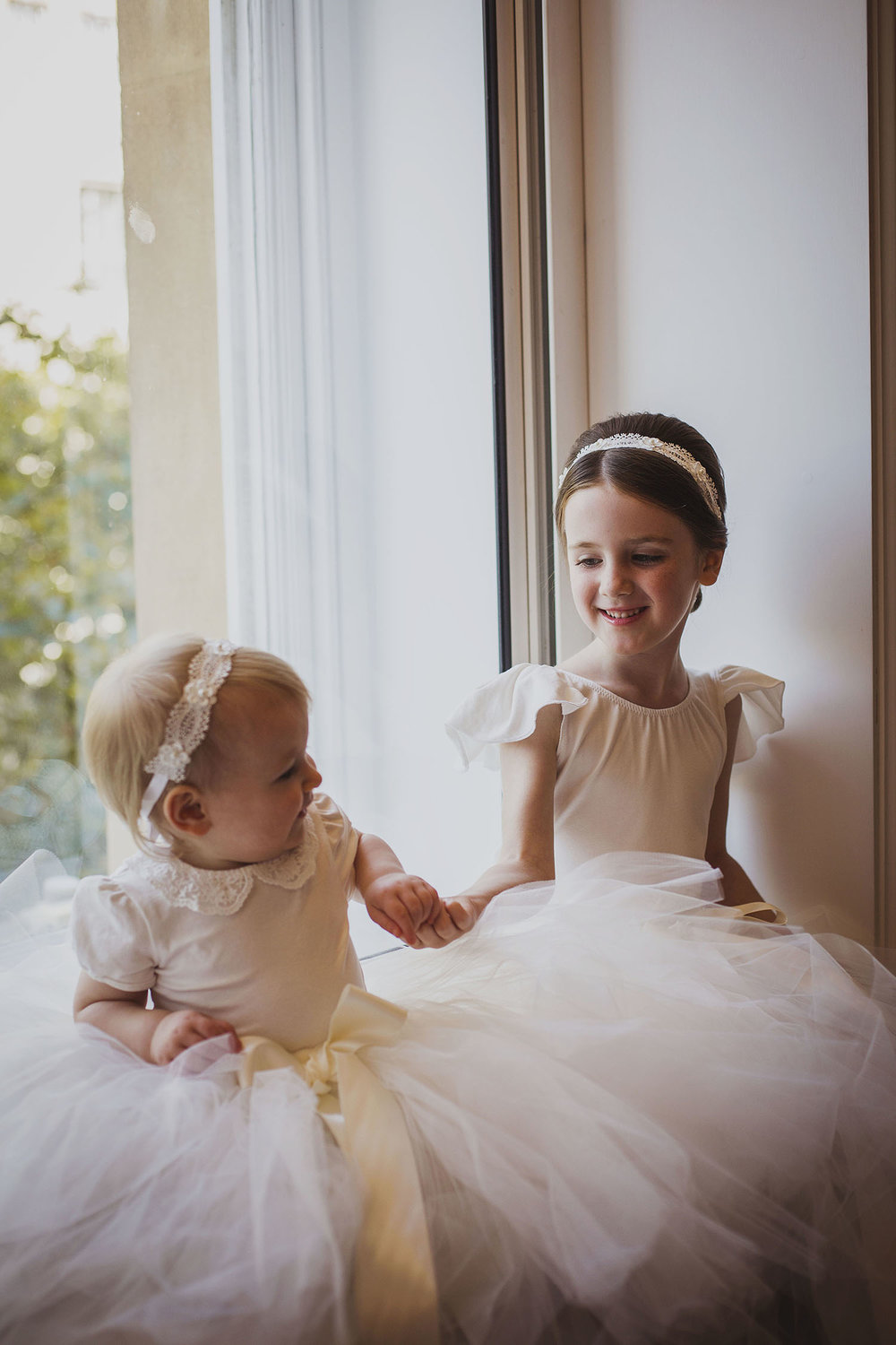 flower girls corinthia hotel london wedding photographer
