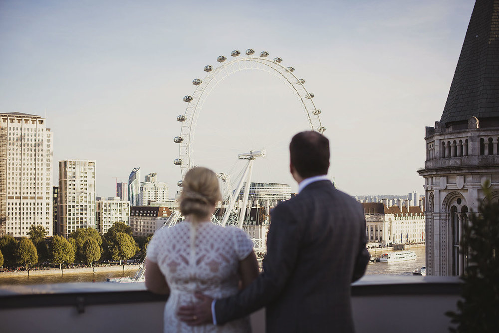 bride and groom portraits royal penthouse suite corinthia hotel london wedding photographer