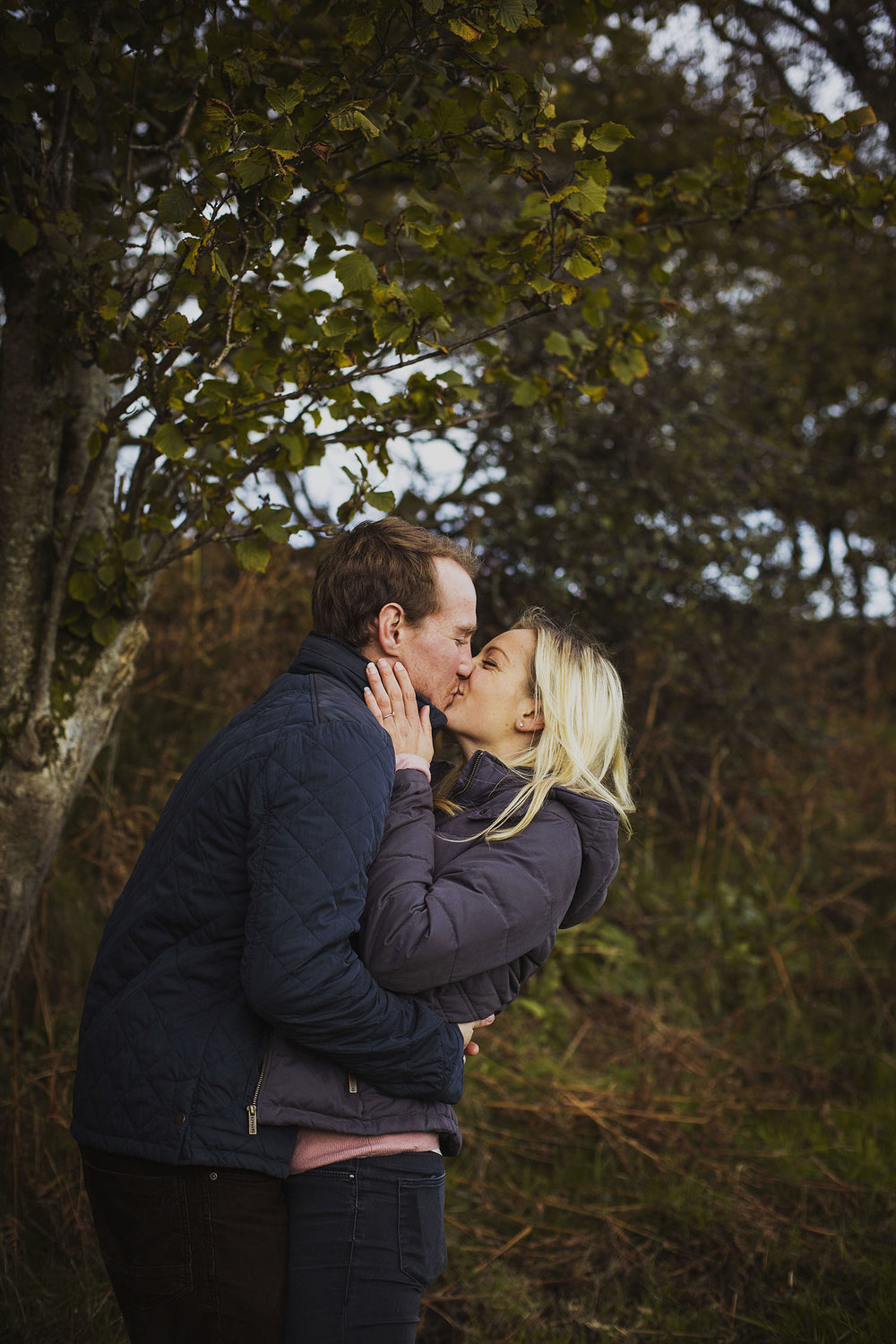 south wales natural engagement photography