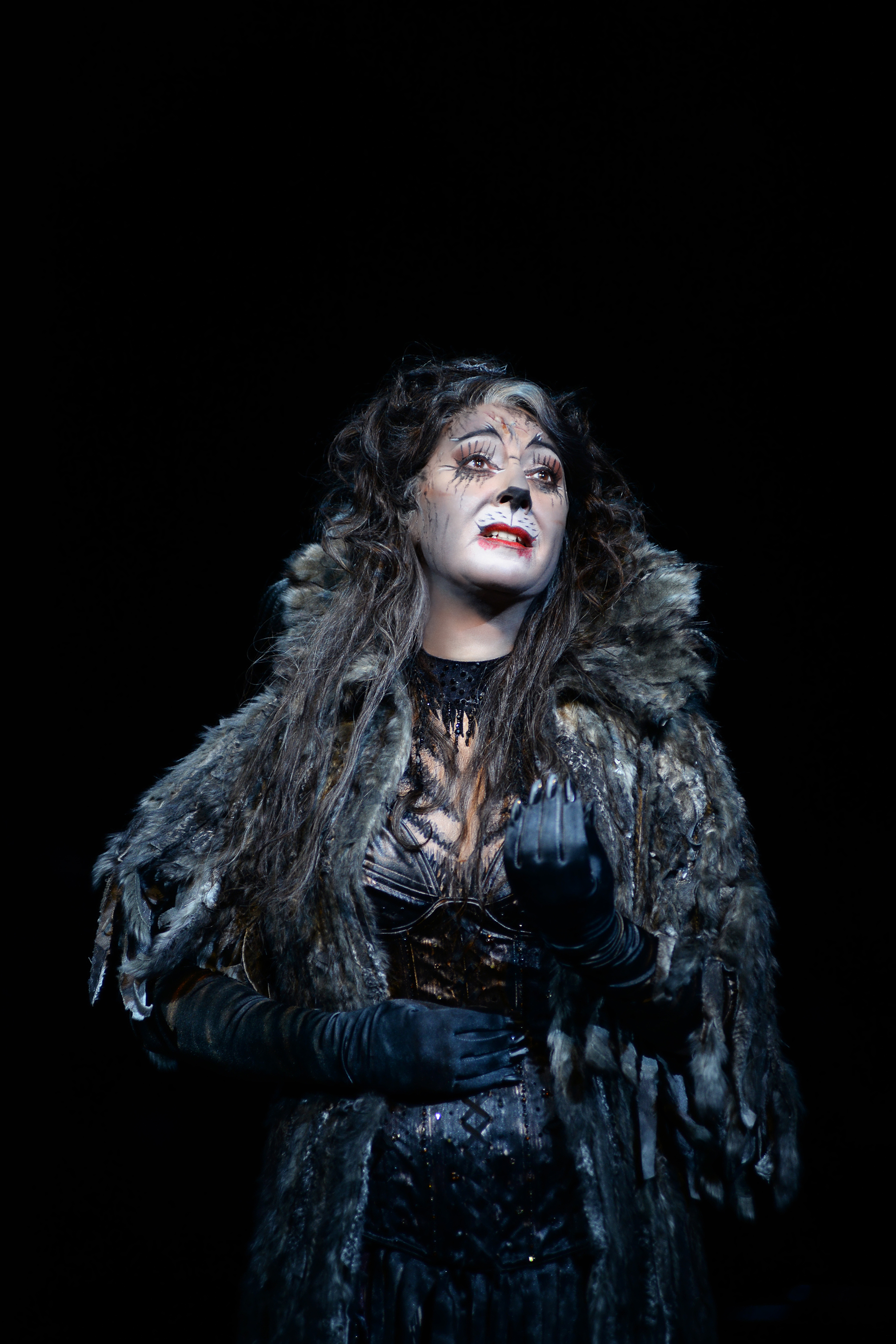 Jane McDonald as Grizabella in CATS