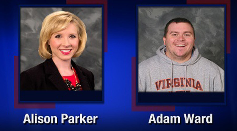 TV video frame grab courtesy of WDBJ7-TV in Roanoke, Virginia (copyright is theirs)