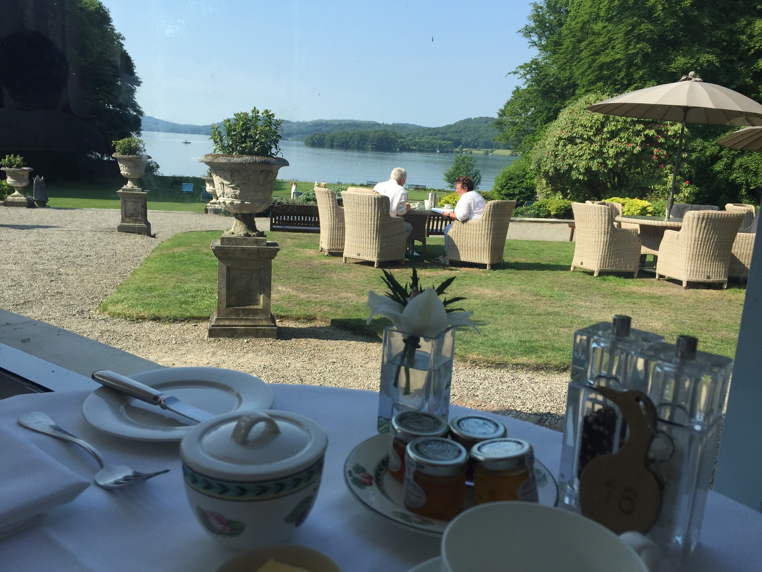 If Carlsberg did breakfast table views... Pic @jabberingjourno