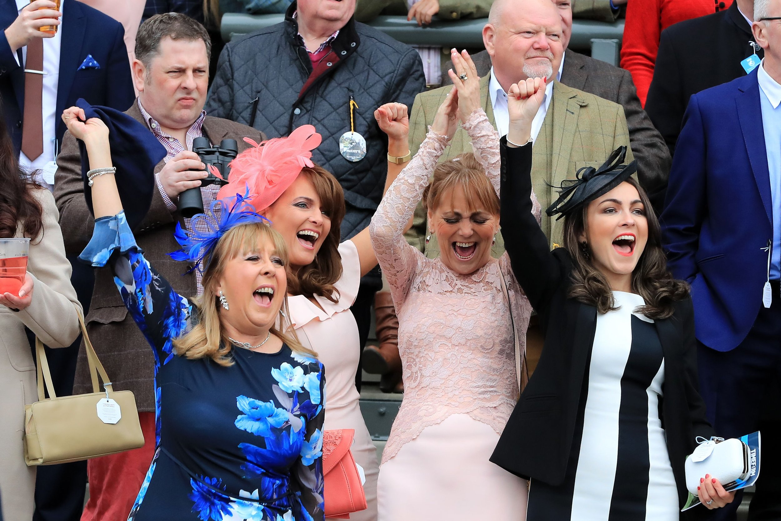 Ladies at the 2017 Grand National