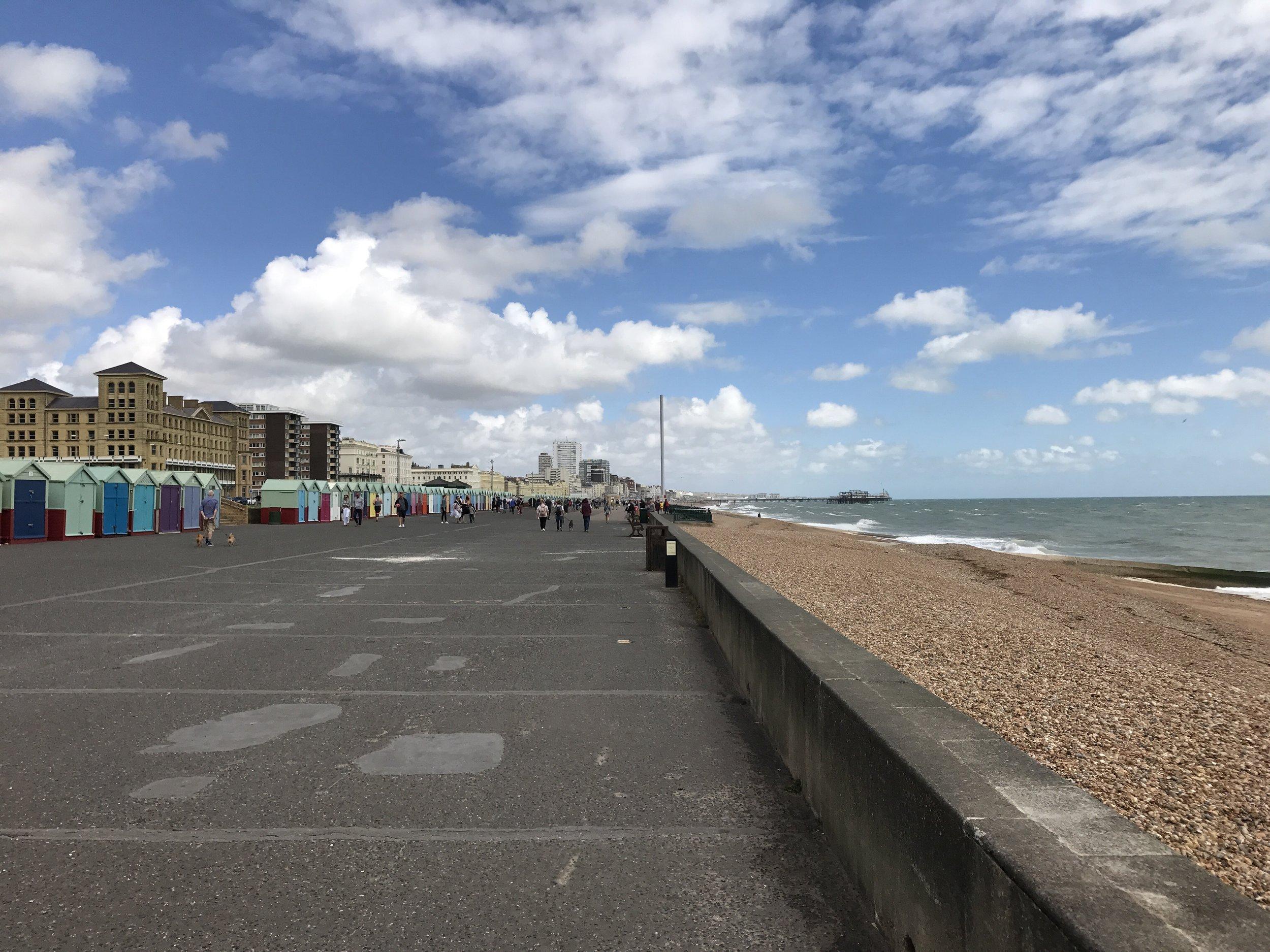 Brighton seafront @jabberingjourno