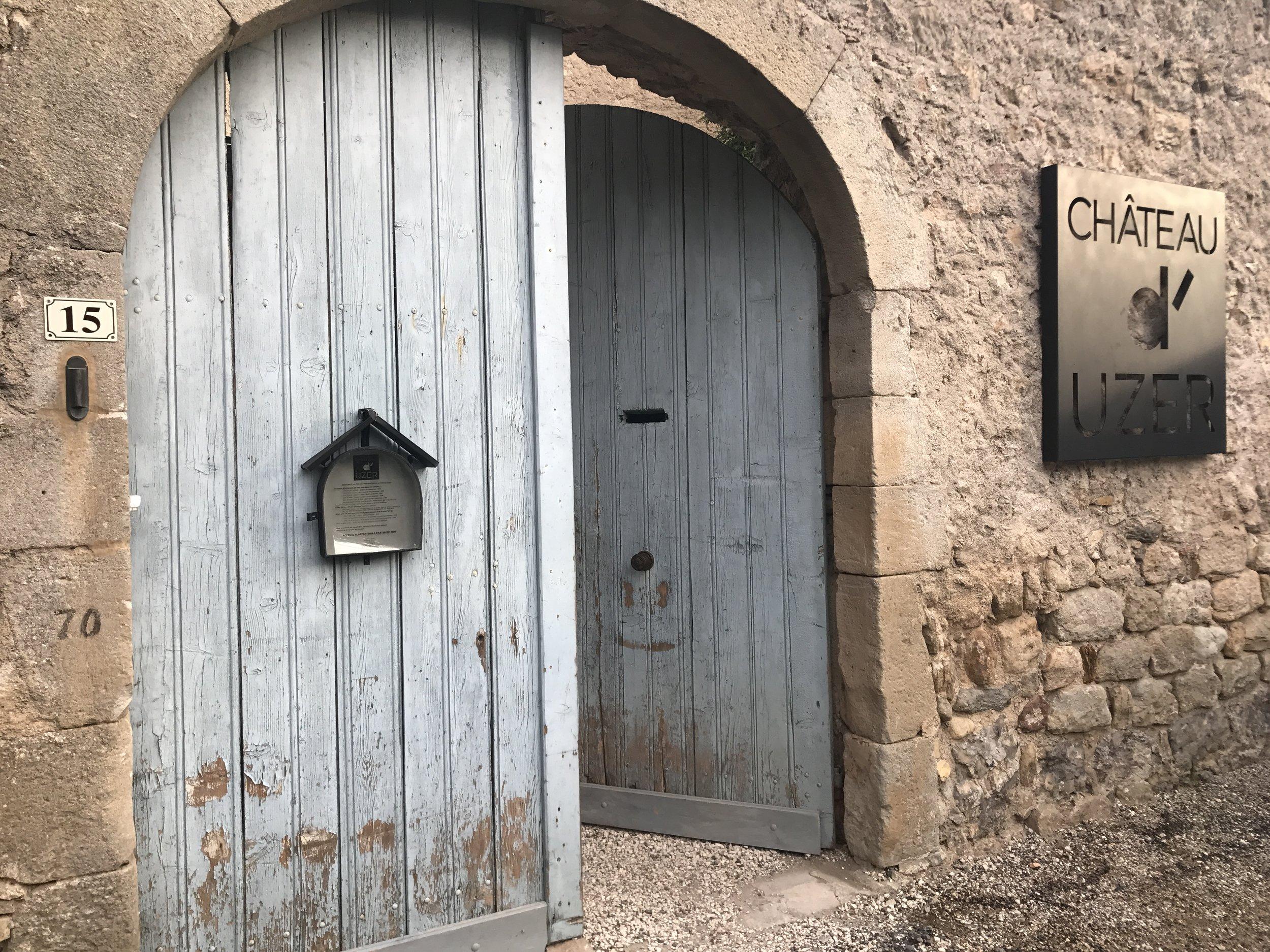 Chateau d'Uzer. Pic @jabberingjourno