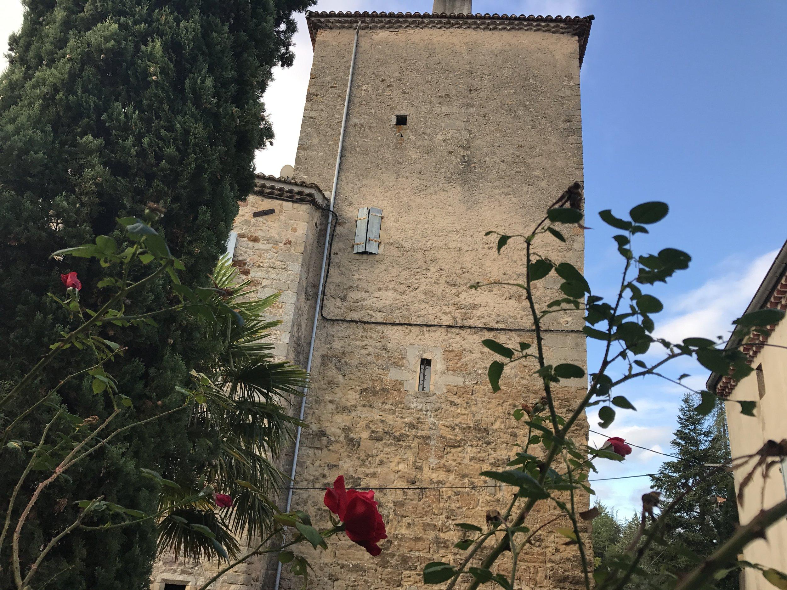 Chateau d'Uzer Pic @jabberingjourno
