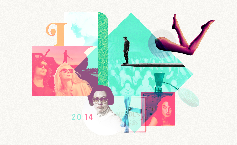 The Dissolve's 2014 Year in Review feature editorial graphics