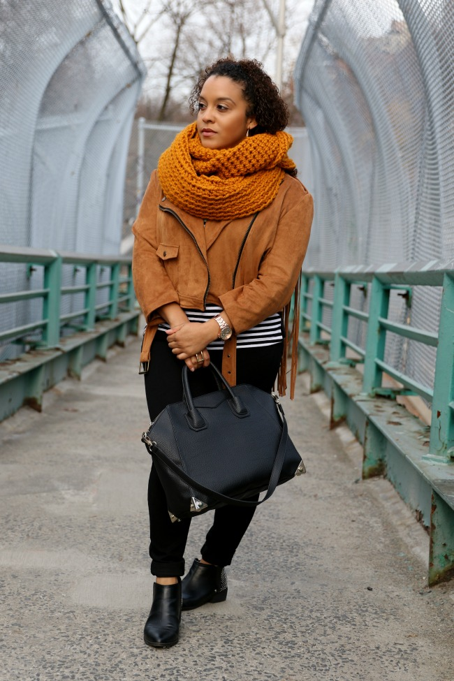 cognac and stripes - life lately
