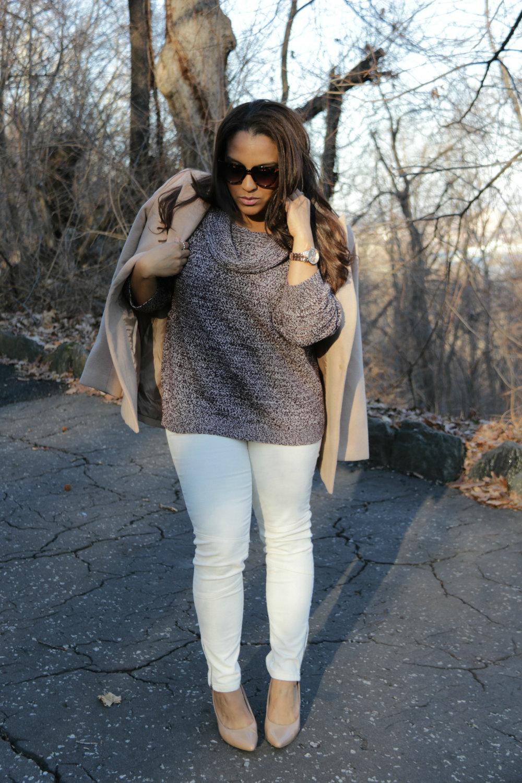 NY&Co marled sweater
