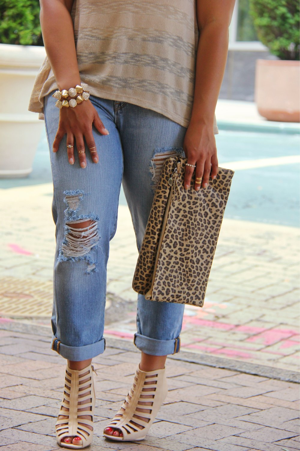 neutral leopard