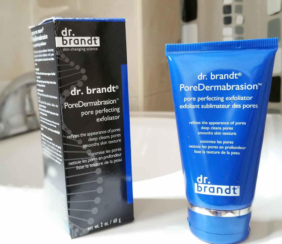 Dr Brandt pore dermabrasion how to use