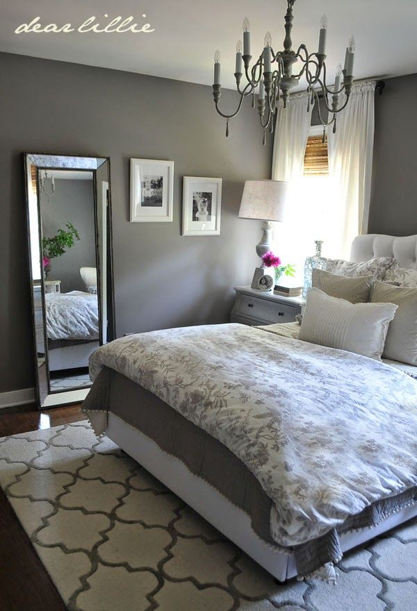 grey bedroom, bedroom decor