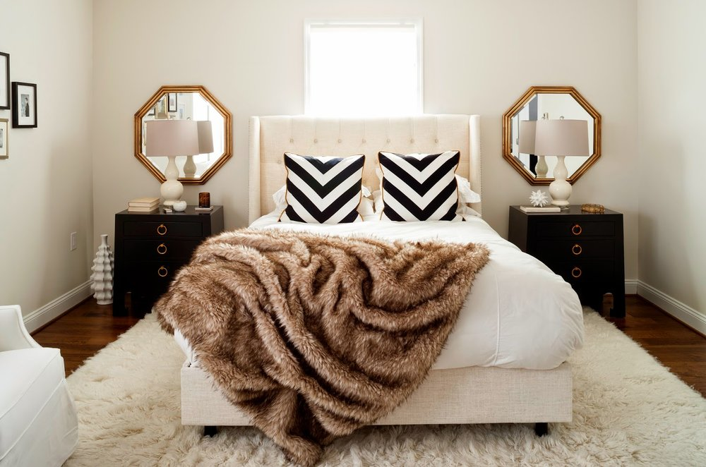 bedroom decor, chic bedroom, bedroom decor for couples, interior design