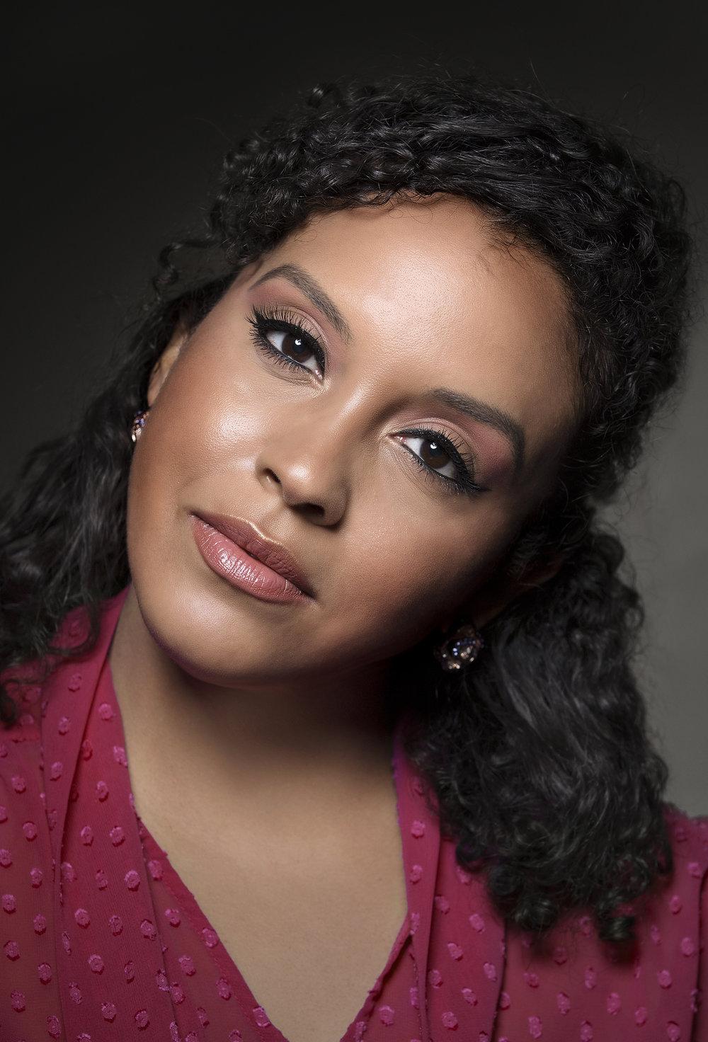 Simple Pink Makeup Jordana Cosmetics - Miriam Morales-Beauty Blogger