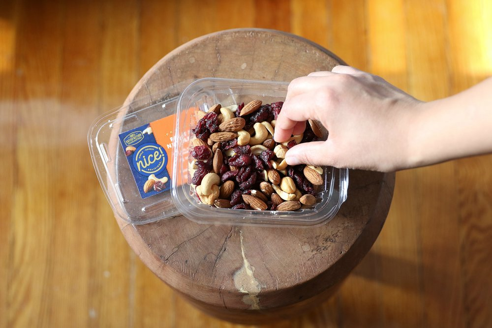 Nice! Mixed nuts snacking tips