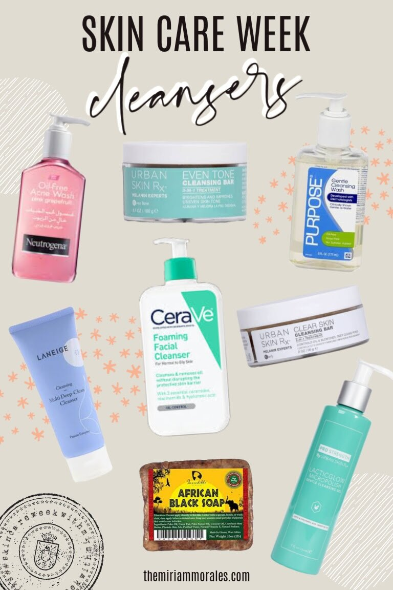 Best Cleansers For Oily Acne Prone Skin Miriam Morales