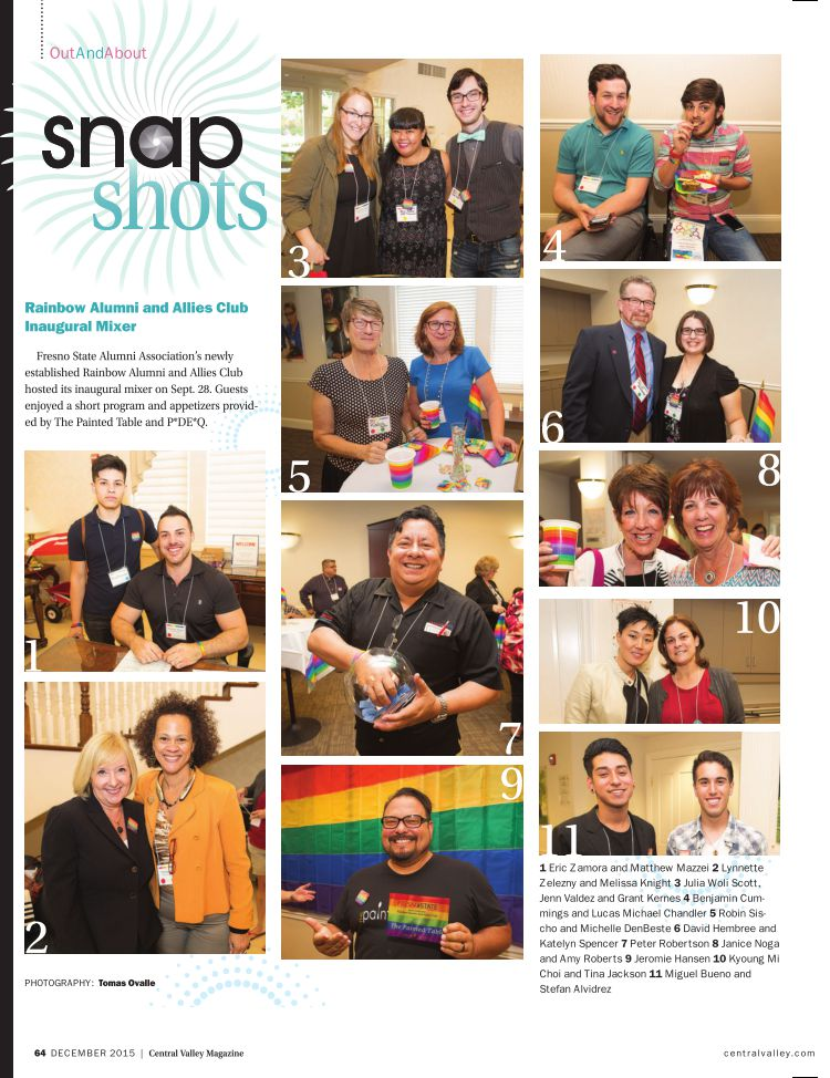 The RAAC inaugural mixer was featured in Central Valley Magazine.