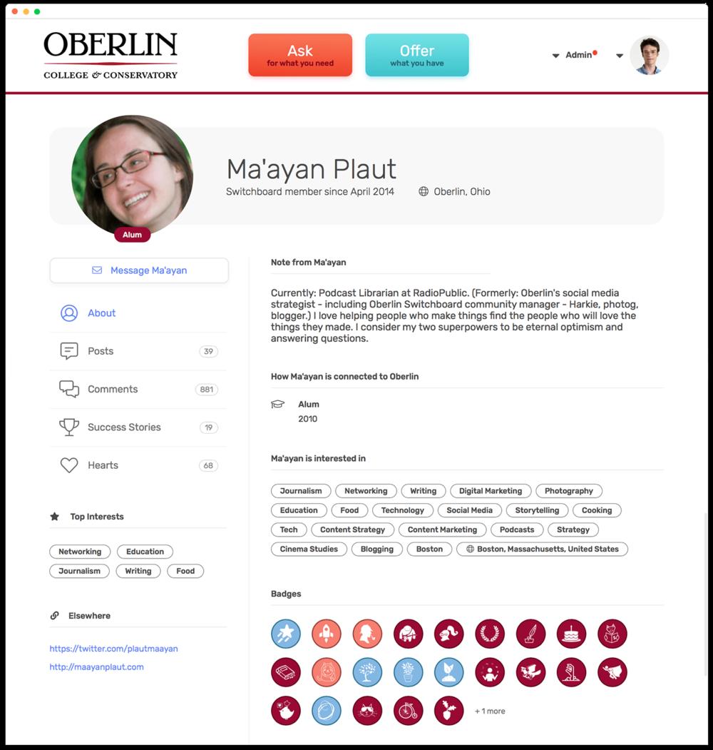 oberlin screenshot profile.png