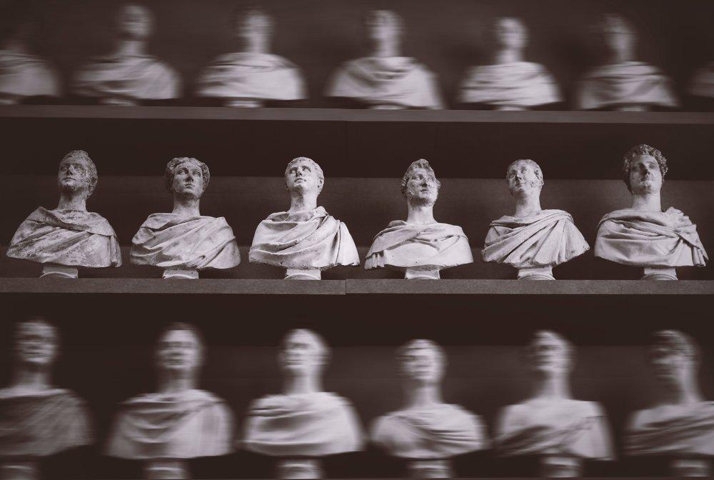 greek busts