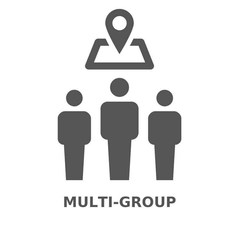 Multi-group workshop times and format are very similar to the single group events, but involve more than one group. All program members from each school can attend. Because you are splitting the costs with another group each group can save up to 40%.