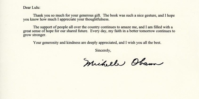 A thank you from 1600 pennsylvania ave the entertainologist white house letter 846x473 expocarfo Choice Image