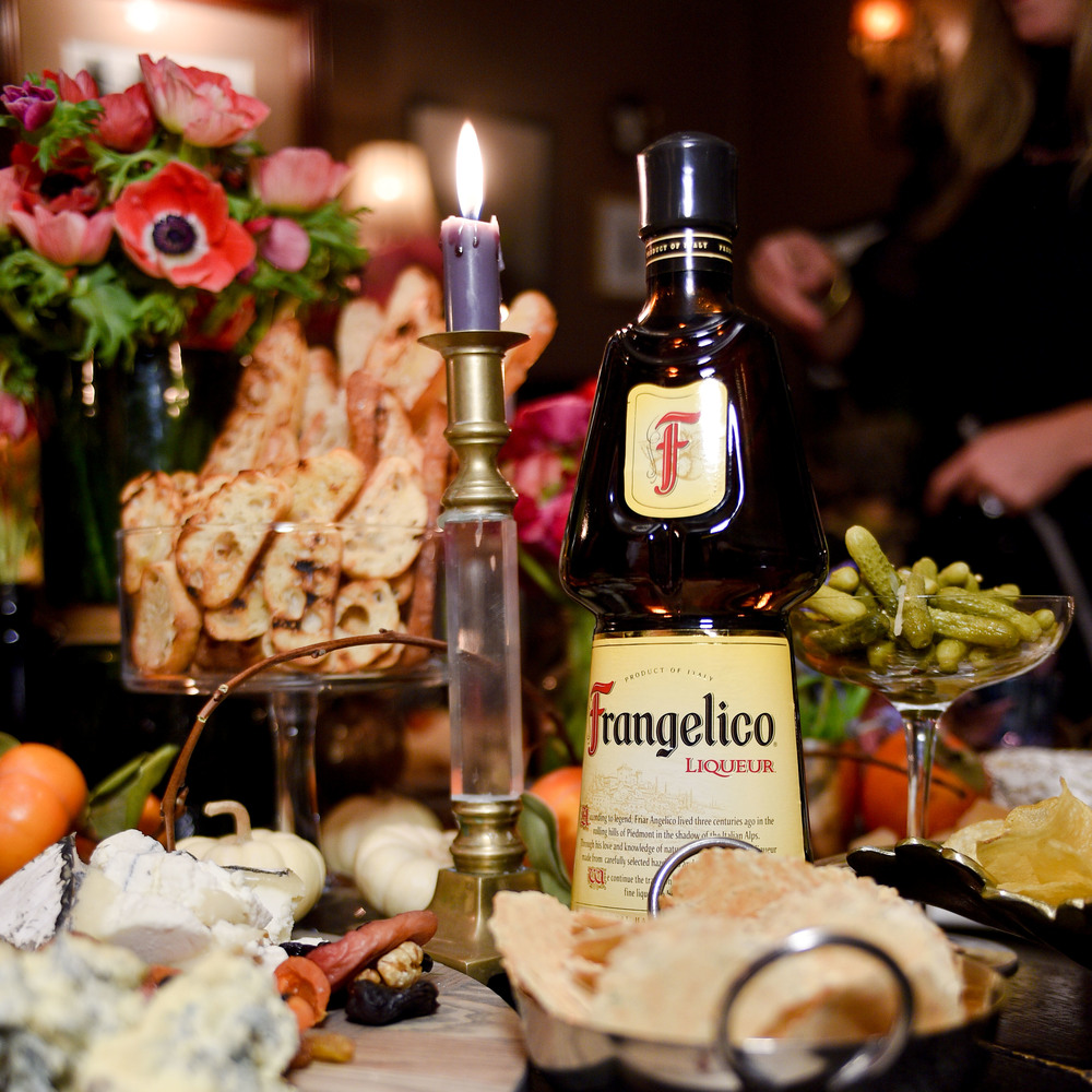 An all Italian inspired tablescape from Frangelico to Figs.