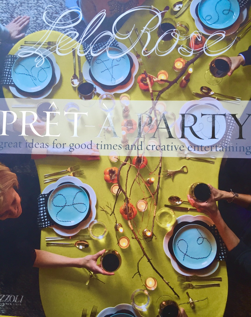 """Pret-a-Party"" by Lela Rose. Get your copy  here !"