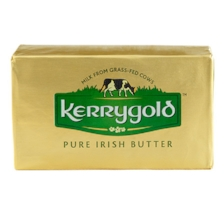 My favorite butter to use at the moment is Kerrygold. Smother a warm piece of fresh bread with this butter and it is heaven.