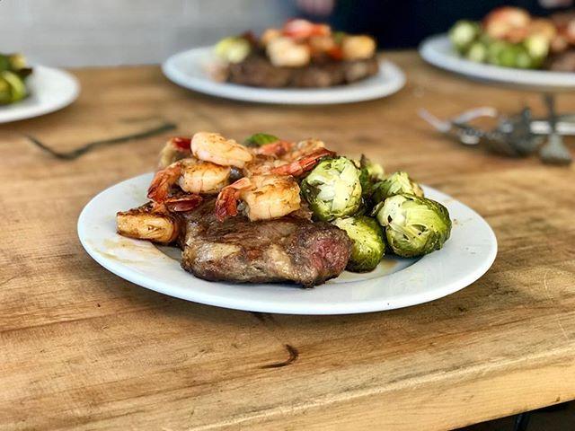 Steak dinner time. Want some?  #boneyardtruck #eatersf #foodporn