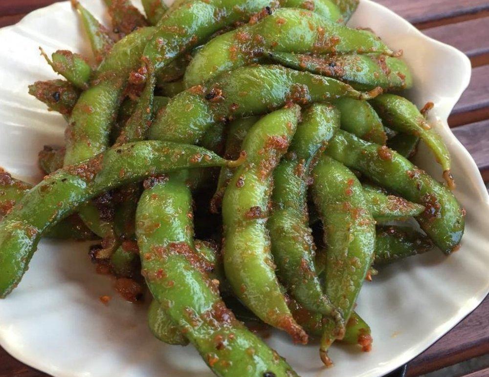 Spicy Edamame -
