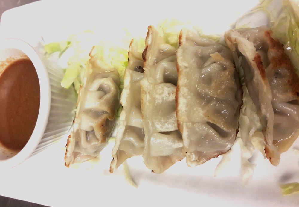 Pan Fried Gyoza -