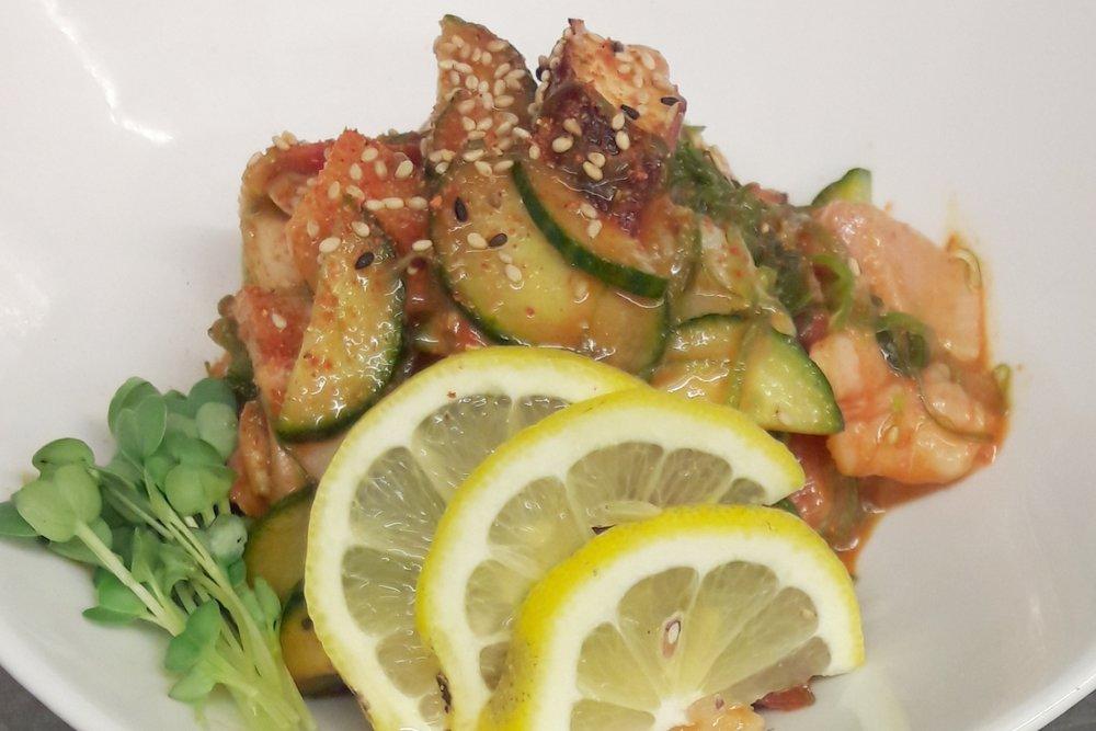 Spicy Seafood Salad -