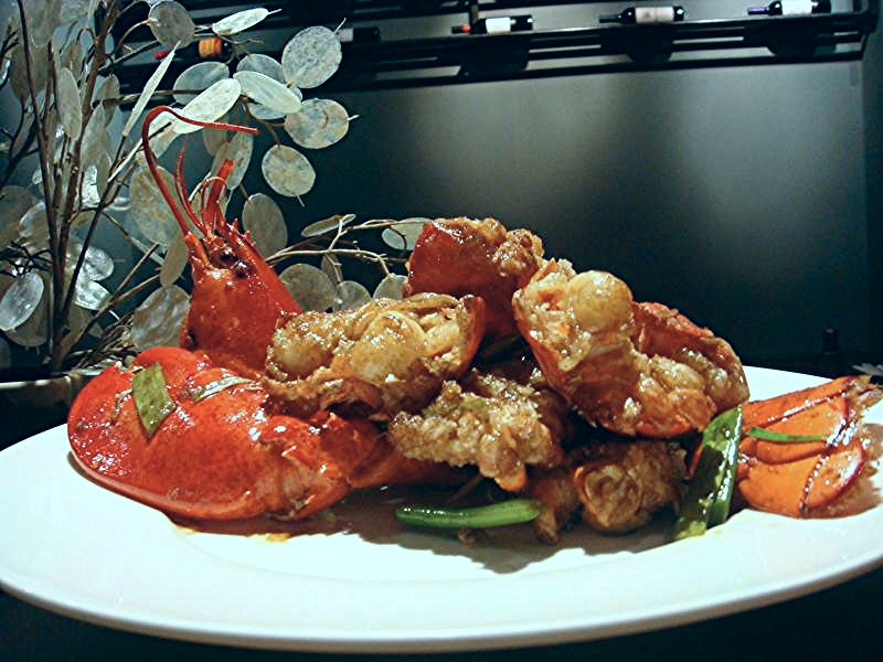 Ginger Scallion Lobster