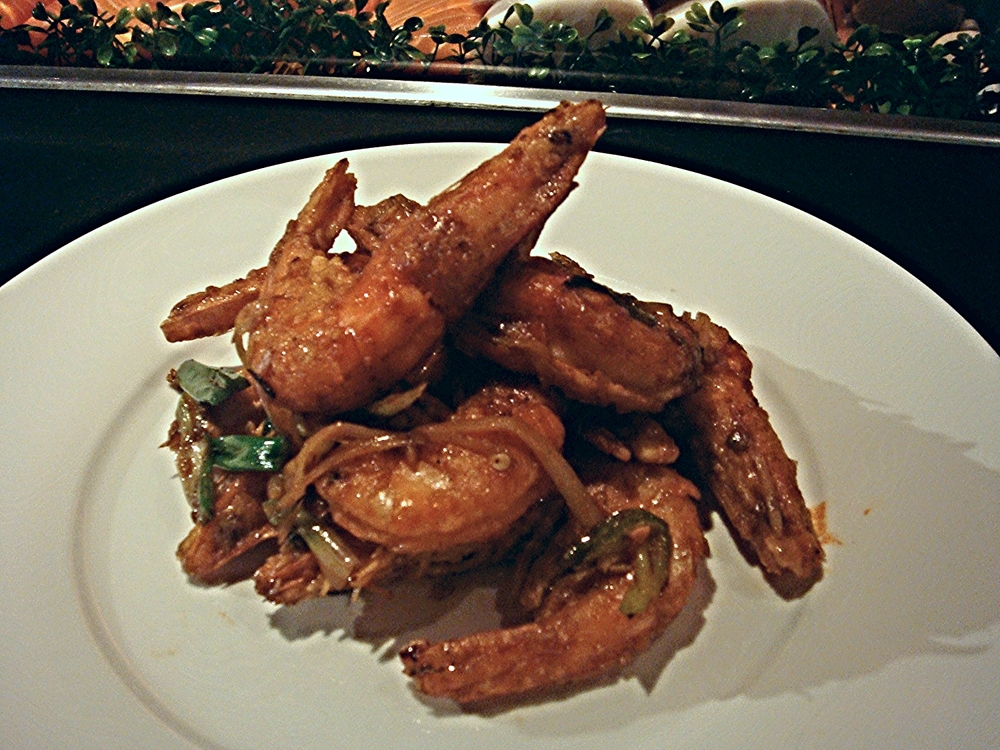 Ginger Scallion Prawn