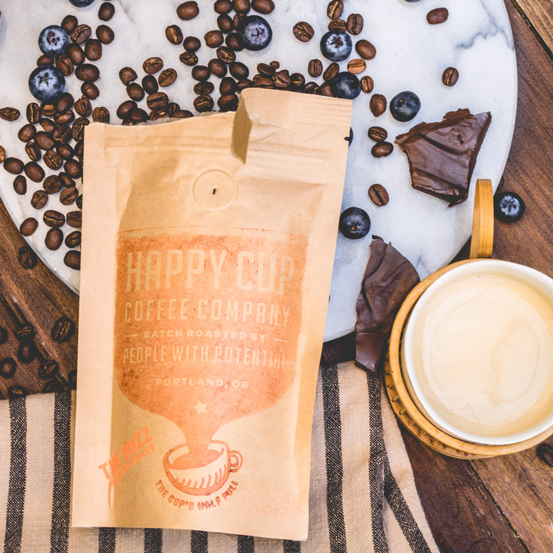 Happy Cup Coffee | The Buzz Blend
