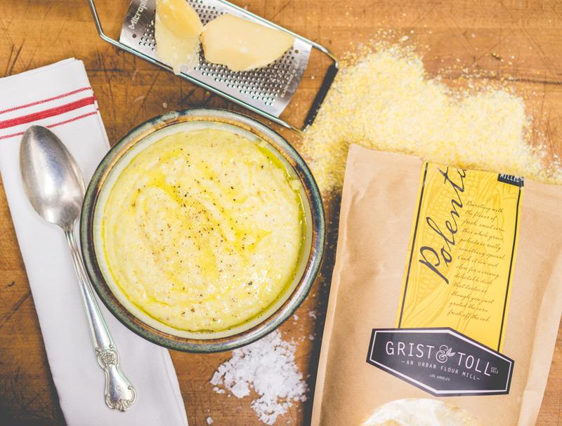 Bruce Kalman's Cheesy Polenta