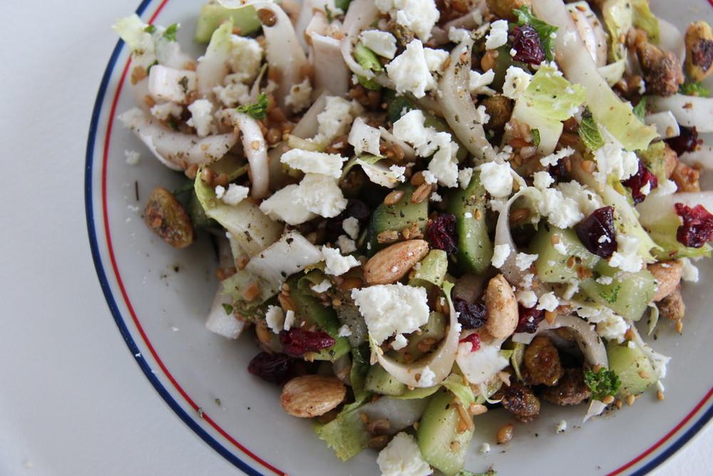Split Emmer Farro Salad