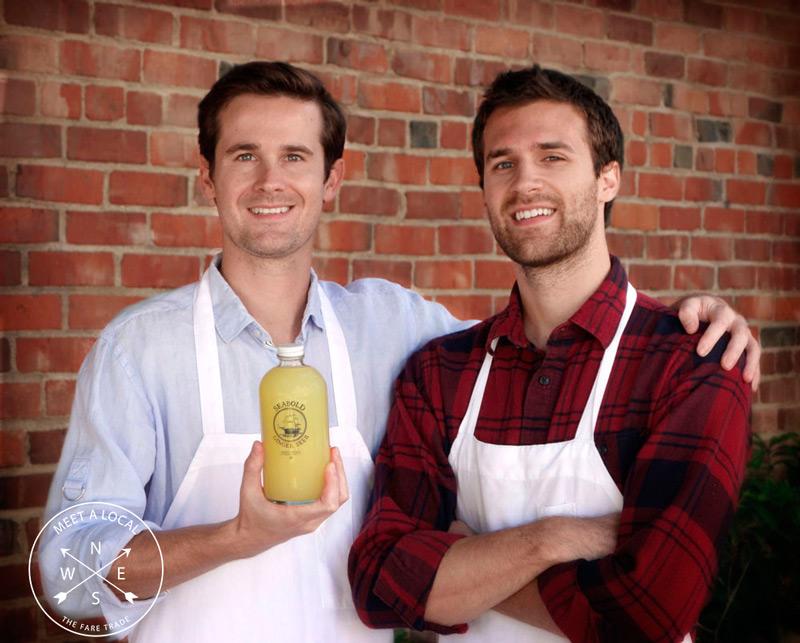 Patrick + Jon Mathisen | Seabold Ginger Beer