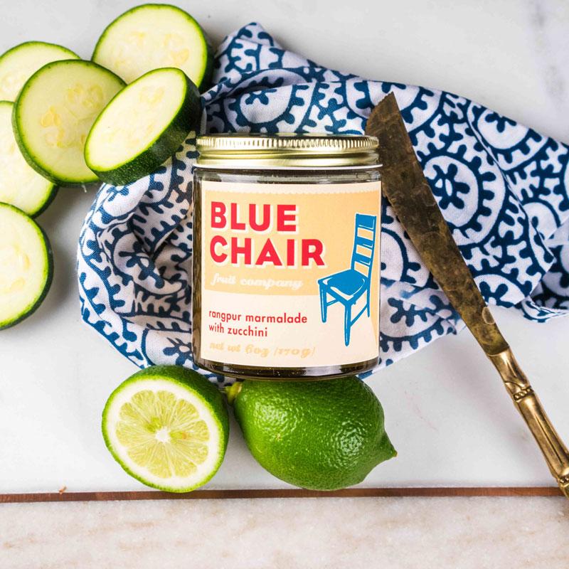 Blue Chair Marmalade | Zucchini Marmalade