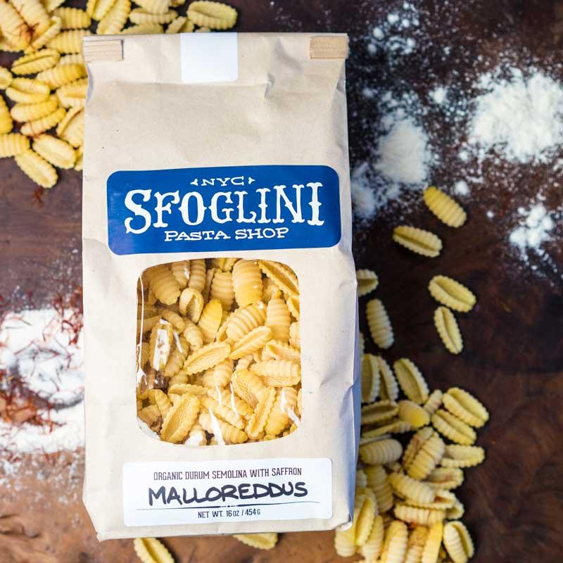 Sfoglini Pasta Shop | Saffron Malloreddus