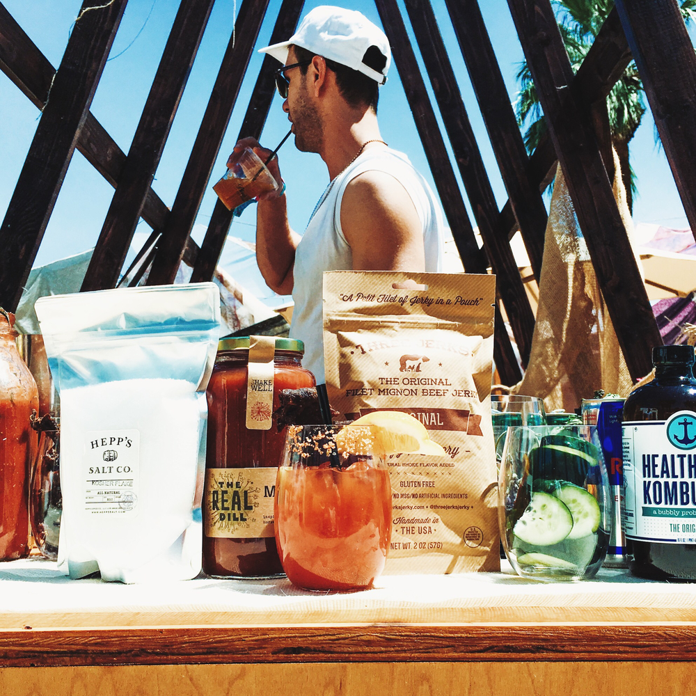 Bloody Mary Bar | The Retreat