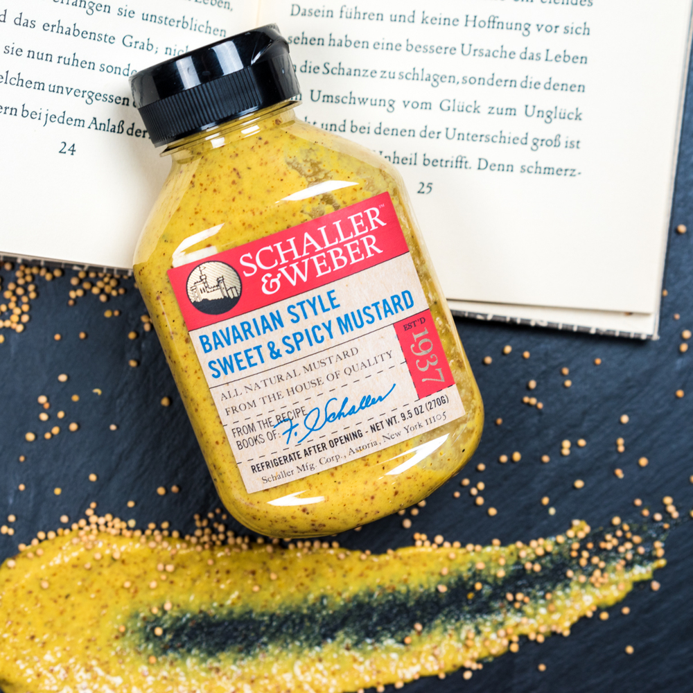 Bavarian Style Sweet + Spicy Mustard